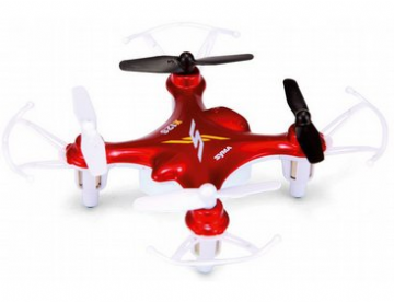 AM-SYSX12S Syma X12S Nano 4CH Remote Control Quadcopter 2.4GHz Red
